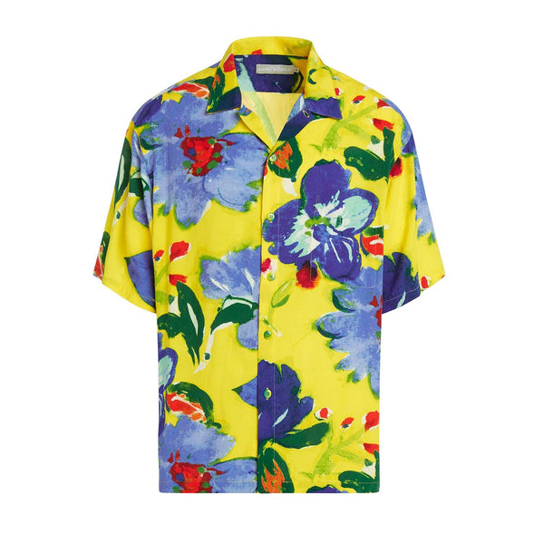 Men's Retro Shirt - Flower Joy - jamsworld.com