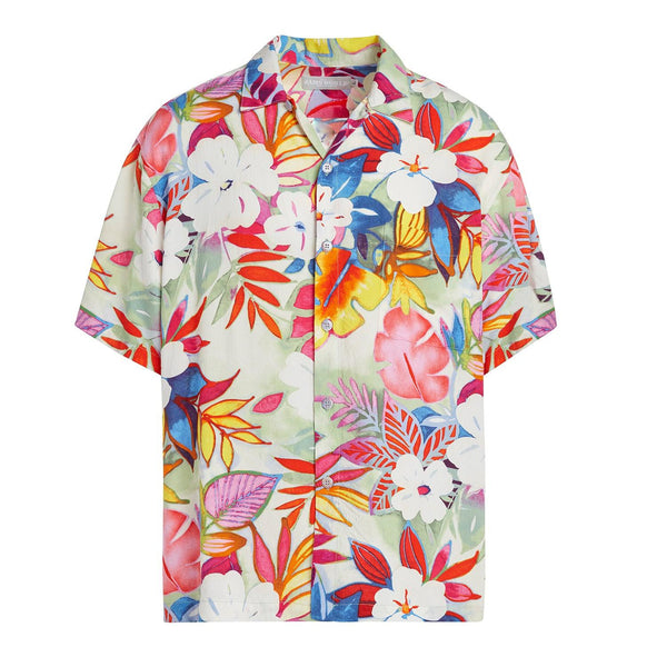 Men's Retro Shirt - Luau Celadon - jamsworld.com