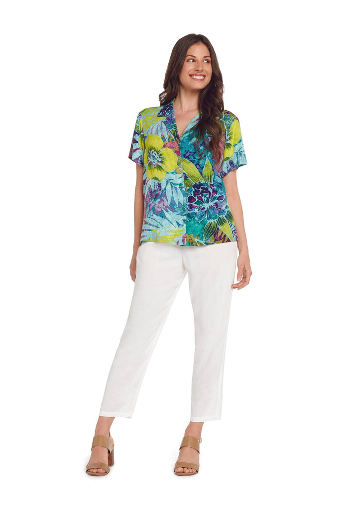 Print Top - Rain Tropic - jamsworld.com
