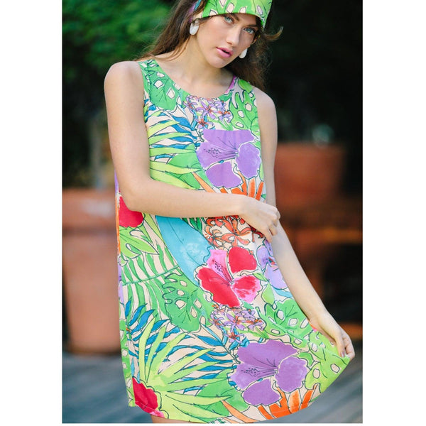 Jackie Dress - Paradise - jamsworld.com