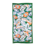Decals Green Surf Line Towel - Surf Line Hawaii