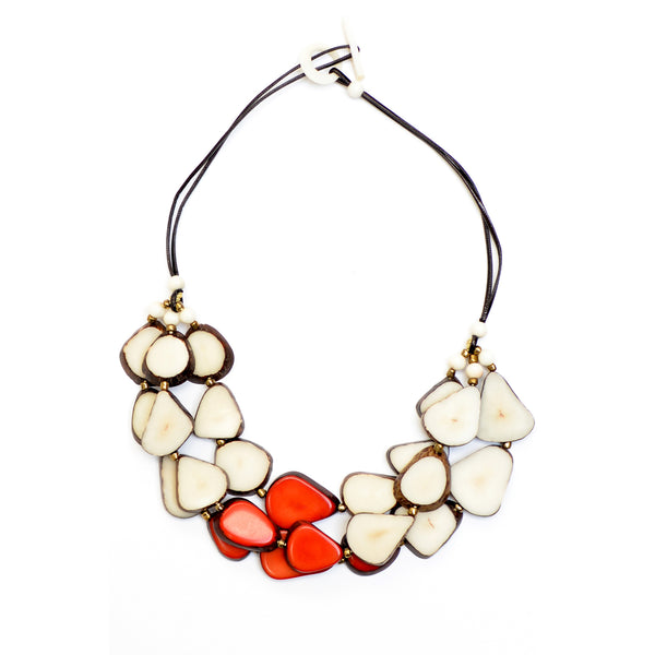 Tagua - Alma Necklace - jamsworld.com