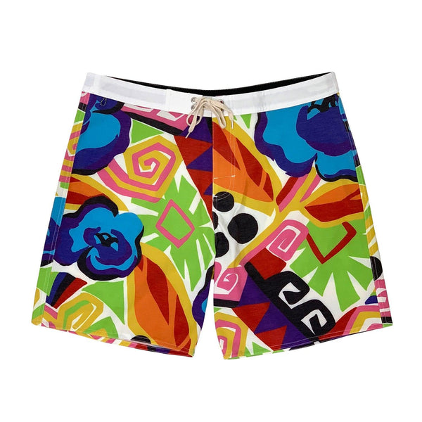 Jams Crash Geo Floral - Next Generation Boardshort - jamsworld.com
