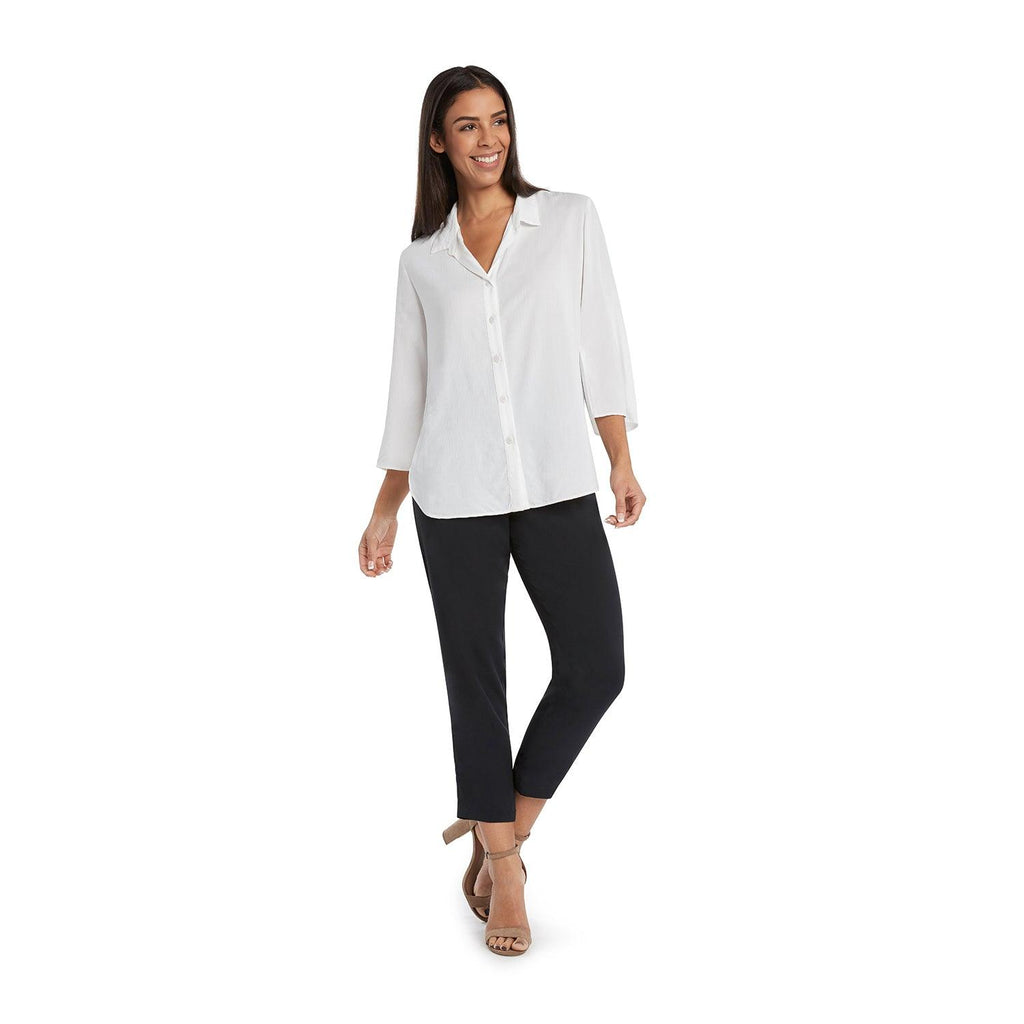 Solid Coastal Tunic - White - jamsworld.com