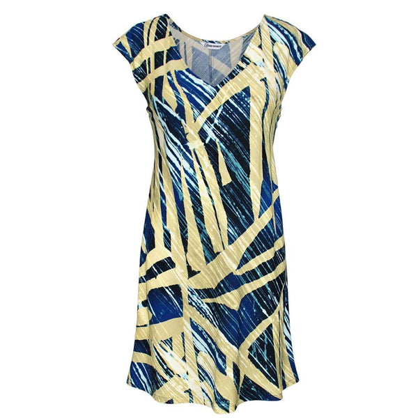 Sherry Dress - Wood Grove Navy - jamsworld.com