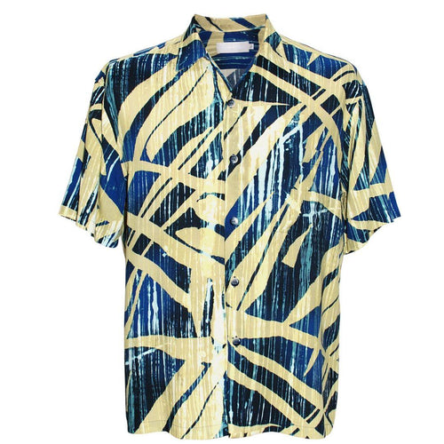 Men's Retro Shirt - Wood Grove Navy - jamsworld.com