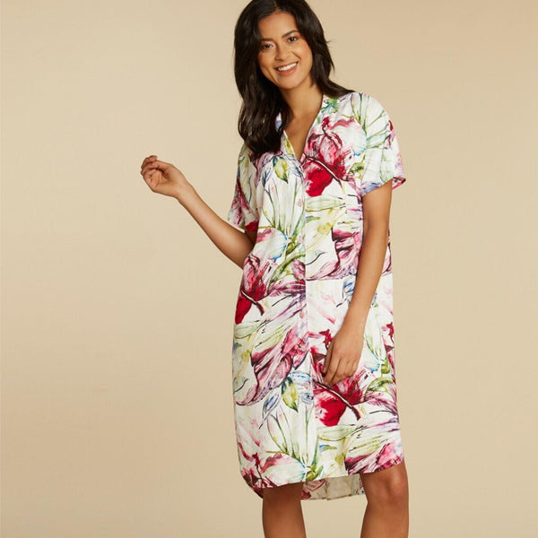 Shirt Dress - Wind Palm - jamsworld.com