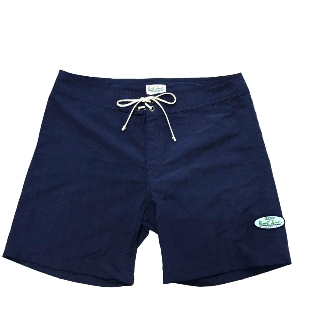 Made in Hawaii Boardshorts - Solid Navy - jamsworld.com
