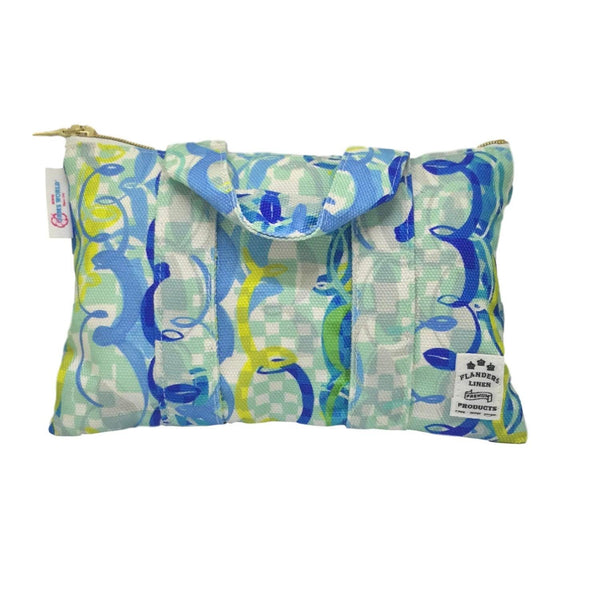 Flanders Small Zip Pouch - Ocean Party - jamsworld.com