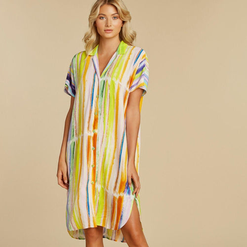 Shirt Dress - Skyline - jamsworld.com