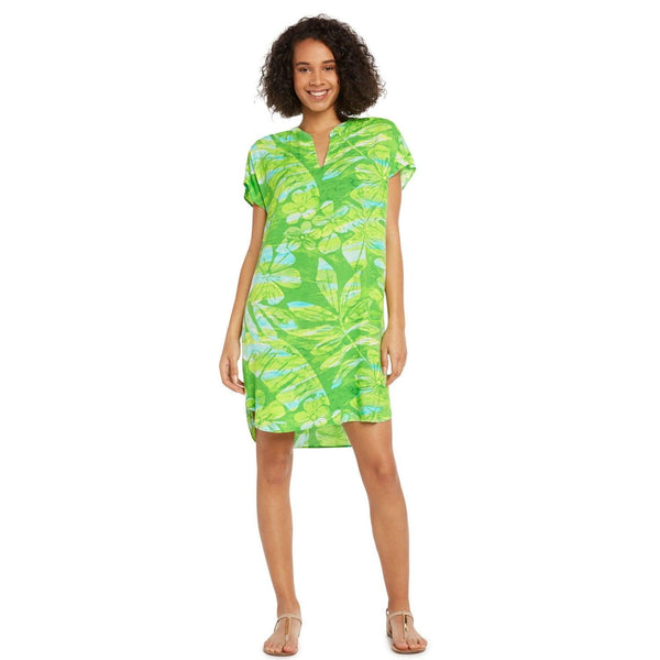 Sofia Dress - Seagrass - jamsworld.com