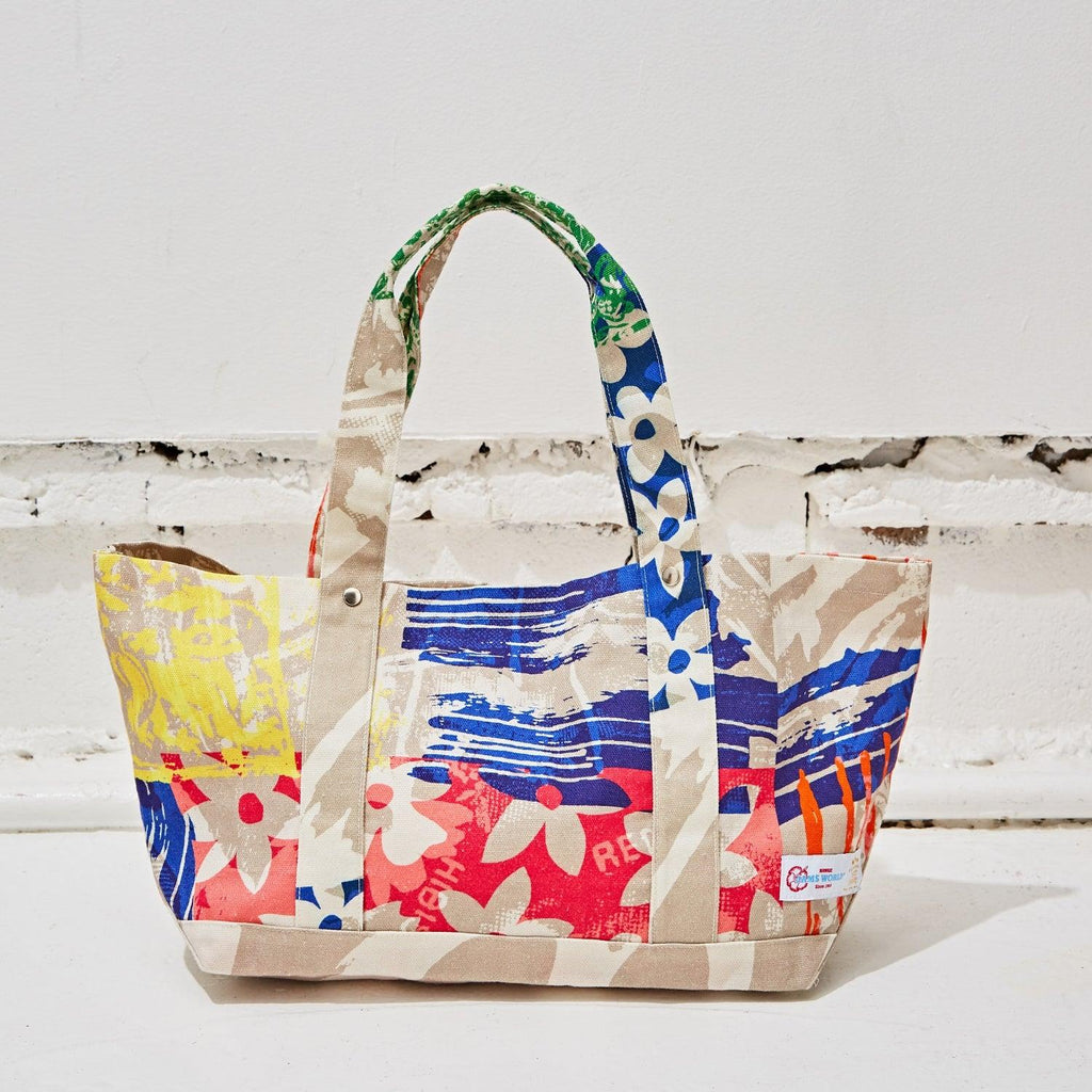 Flanders Tote Bag Medium - Aloha - jamsworld.com