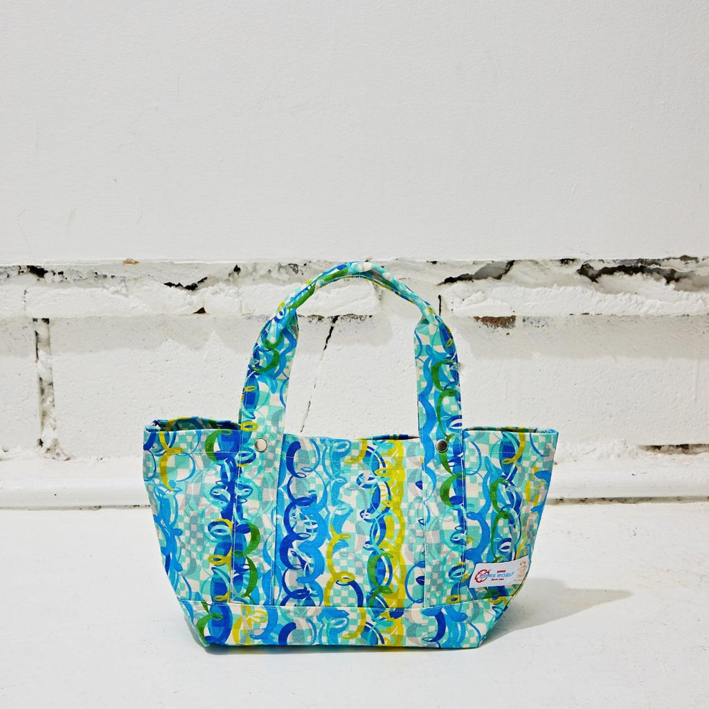Flanders Tote Bag Small - Ocean Party - jamsworld.com