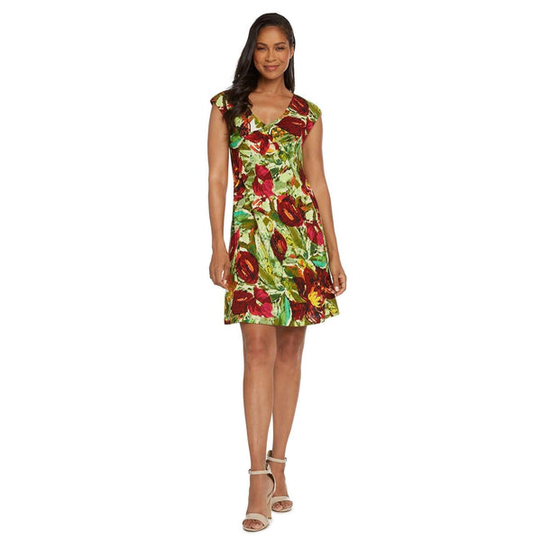 Sherry Dress - Anthurium - jamsworld.com