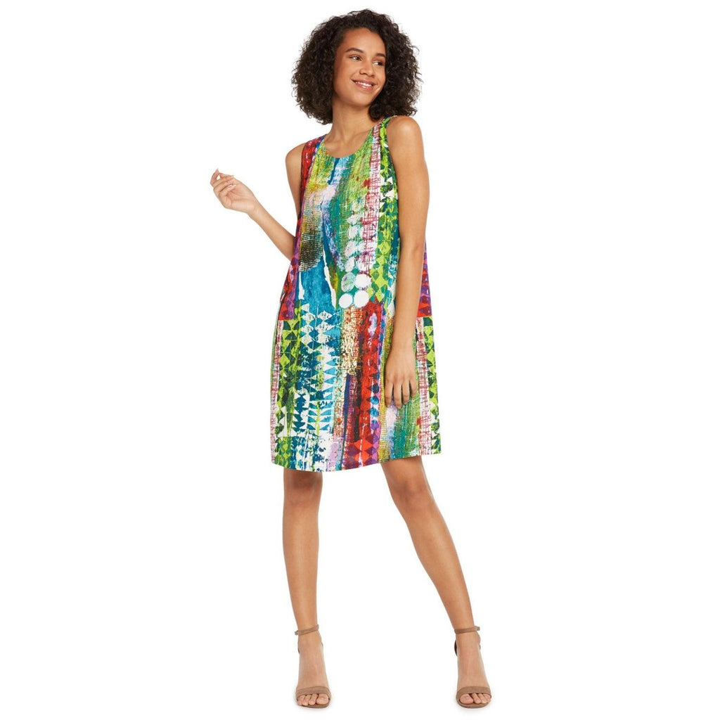 Jackie Dress - Tribal Reef - jamsworld.com