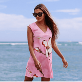 Sherry Dress - 'Akala (Pink) - jamsworld.com