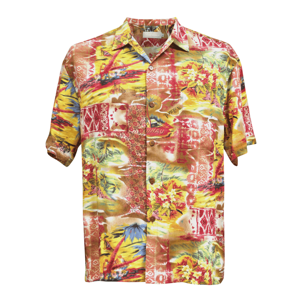 Men's Retro Shirt - 'Akala (Pink) - jamsworld.com