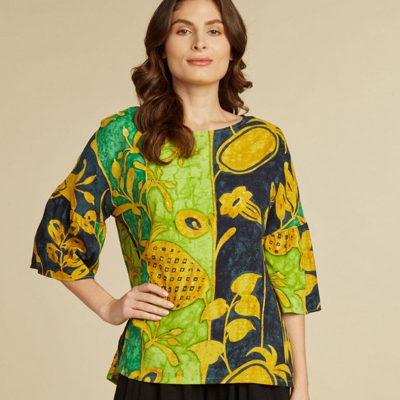 Belle Top - Patch Ananas