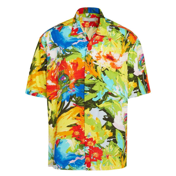 Men's Retro Shirt - Floral Breeze