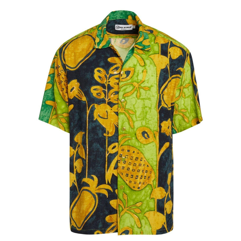 Chemise Rétro Homme - Patch Ananas