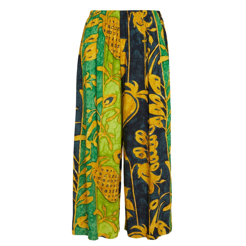 Jambe large courte - Patch ananas