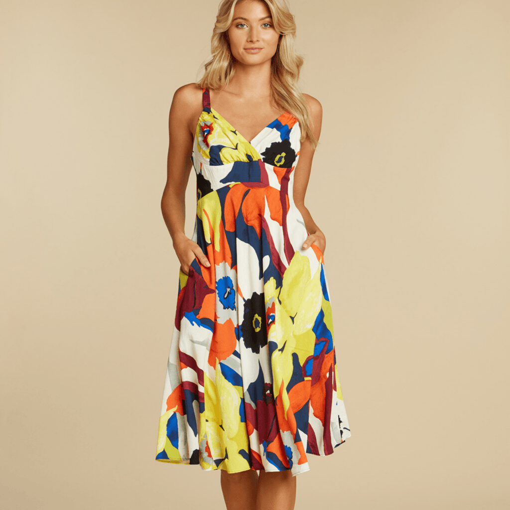 Ci Ci Dress - Bamboo Orchid