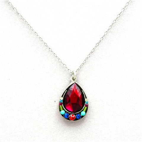 Firefly Elizabeth Large Drop Pendant - Multicolor