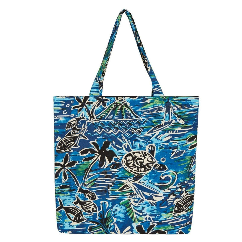 Farmers' Market Bag - Honu Island Blue