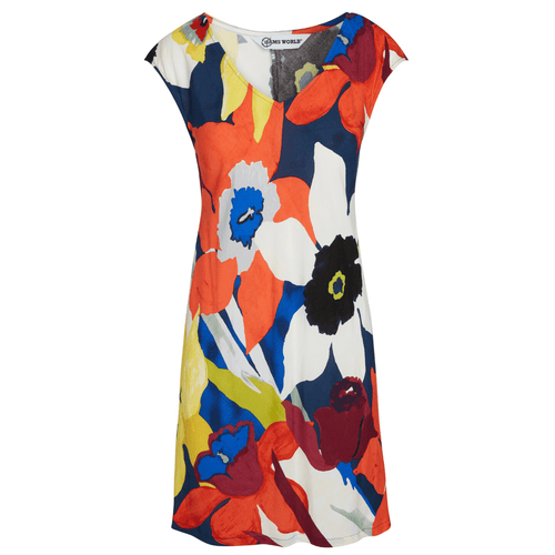 Sherry Dress - Bamboo Orchid - jamsworld.com