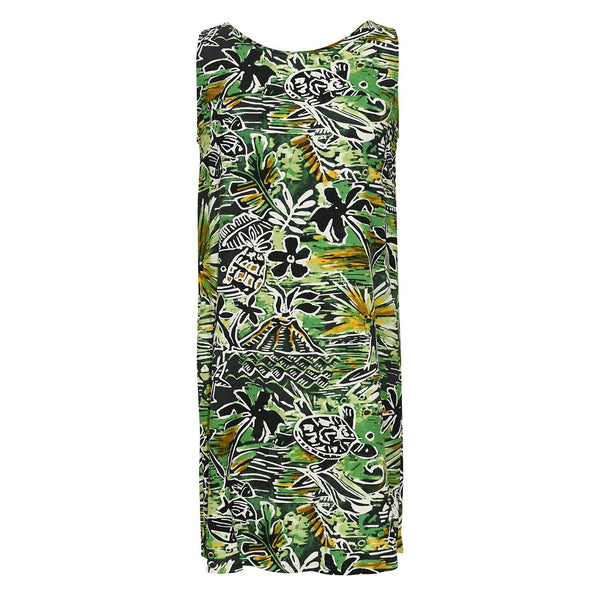 Jackie Dress -Honu Green