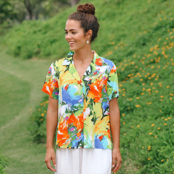 Print Top - Floral Breeze - jamsworld.com