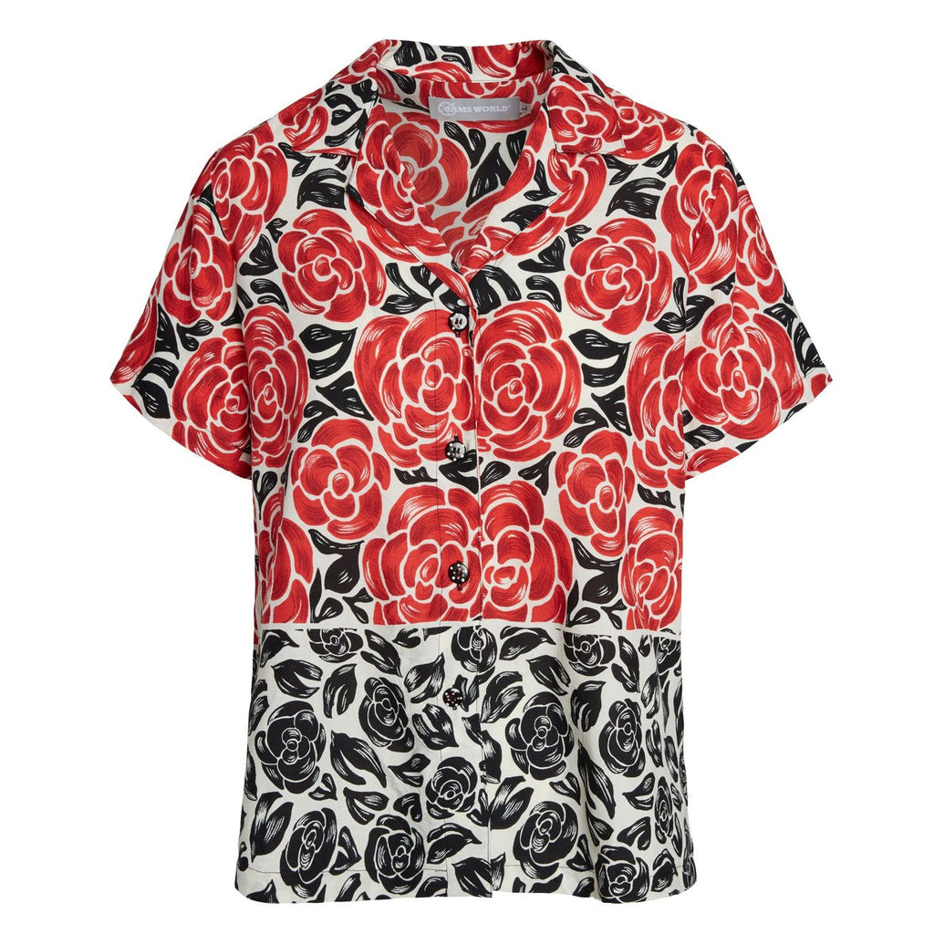 Print Top - Latona Rose - jamsworld.com