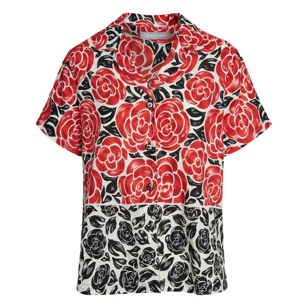 Print Top - Latona Rose