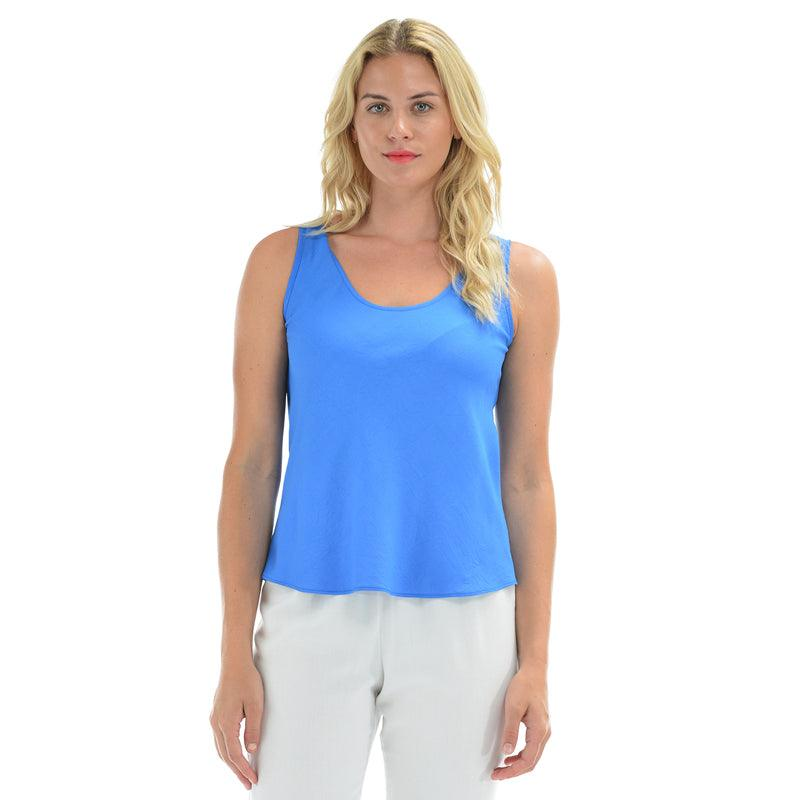 Solid Tank Top - Blueberry - jamsworld.com