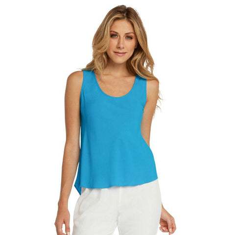 Solid Tank Tops - Turquoise