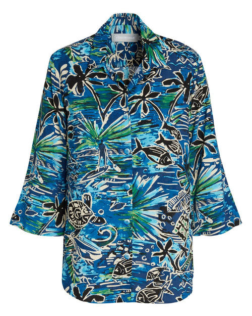 Coastal Top - Honu Island Blue - jamsworld.com