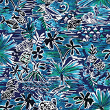 Print Top - Honu Island Blue - jamsworld.com