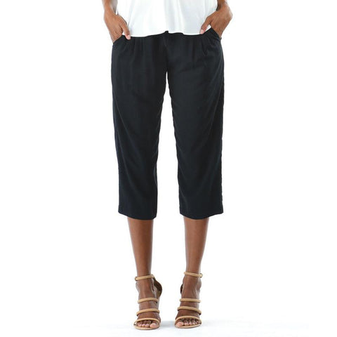 Solid Beach Pant - Black