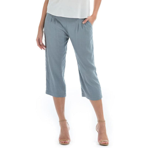 Solid Beach Pant - Oyster