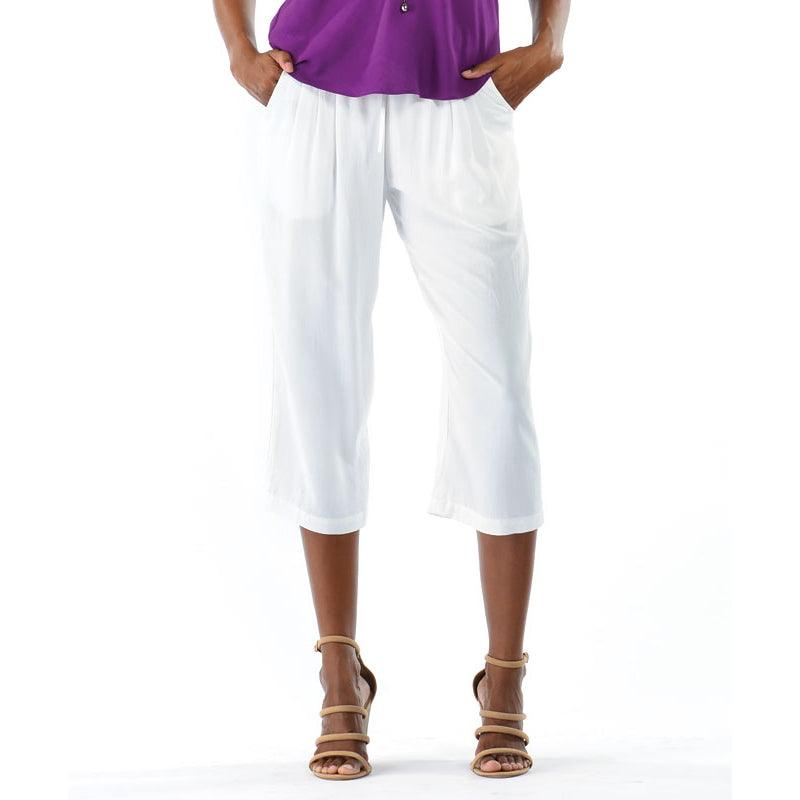 Solid Beach Pant - White - jamsworld.com