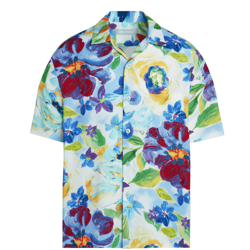 Men's Retro Shirt - Moonlight Bliss