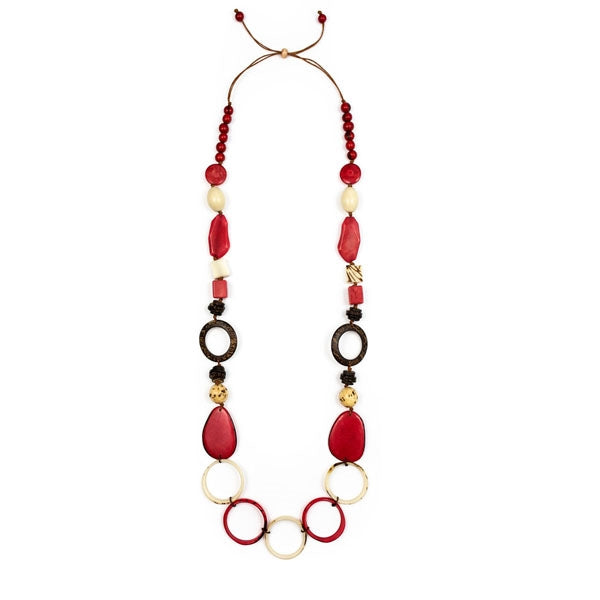 Dorado Tagua Nut Necklace - jamsworld.com
