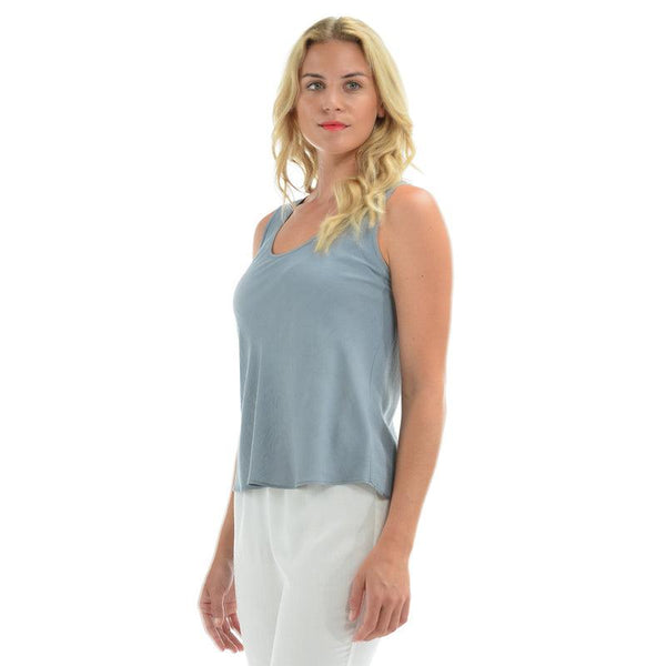 Solid Tank Top - Oyster - jamsworld.com
