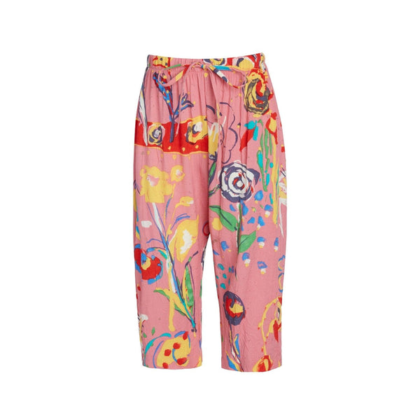 Girls Hawaiian Capri Pants : XS(4/5) to L(12/14) - Fiesta - jamsworld.com