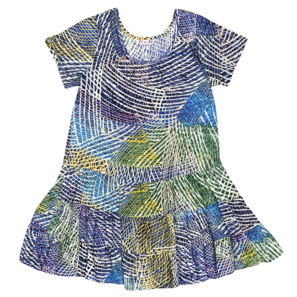 Girls' Hattie Dress - Hibiki - jamsworld.com
