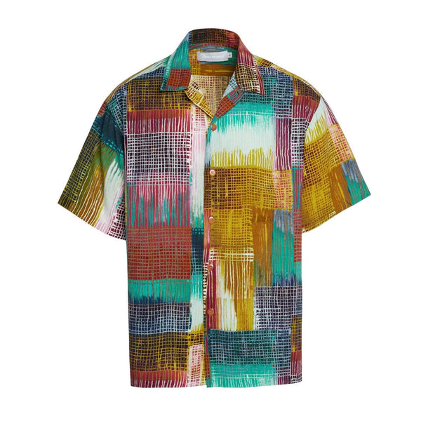 Men's Retro Shirt - Network