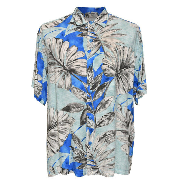 Men's Retro Shirt - Kona Coast Blue