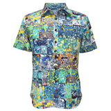 Men's Archival Collection Modern Fit Shirt - Bluestone Yukata - jamsworld.com