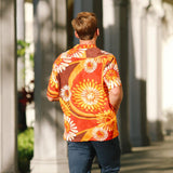 Men's Retro Shirt - Flower Explosion