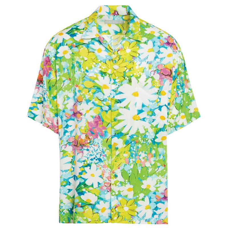 Men's Retro Shirt - Daisy Patch - jamsworld.com